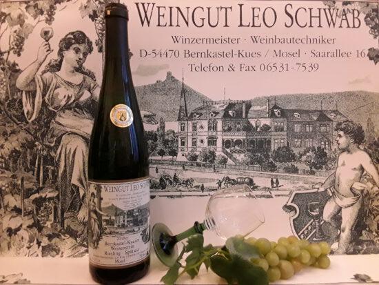 2018er Bernkastel-Kueser Weisenstein Spätlese Lieblich
