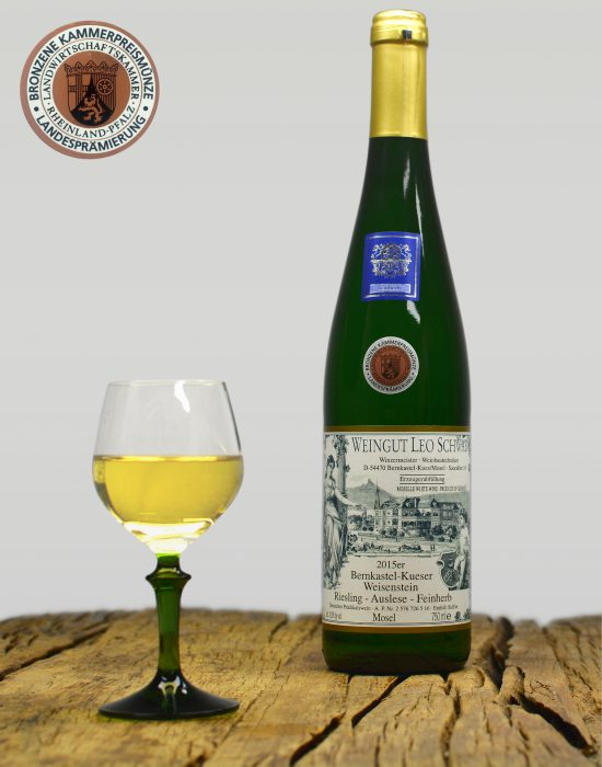 2015er Bernkastel-Kueser Weisenstein Auslese Feinherb