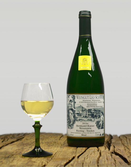 2015er Bernkastel-Kueser Weisenstein Qualitätswein Trocken