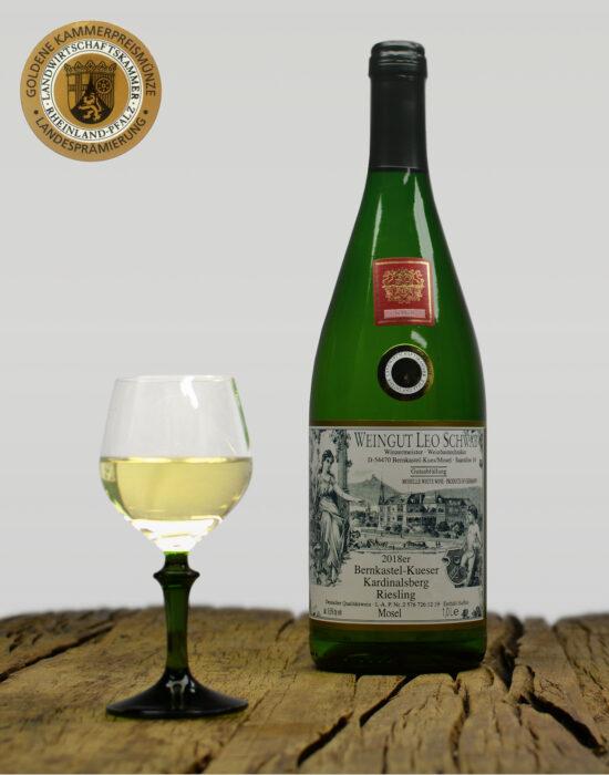 2018er Bernkastel-Kueser Kardinalsberg Qualitätswein Lieblich