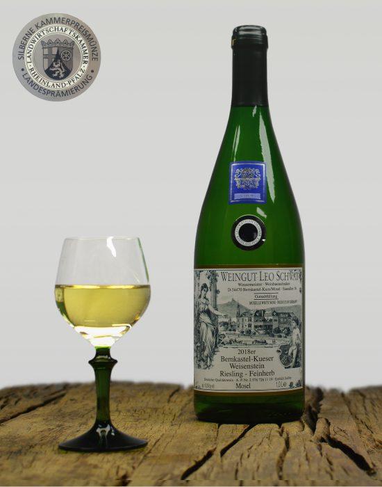 2018er Bernkastel-Kueser Weisenstein Qualitätswein Lieblich